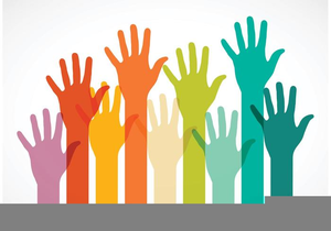 Hands up clipart jpg library stock Free Clipart Hands Raised In Worship | Free Images at Clker.com ... jpg library stock