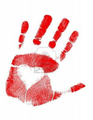 Hands with heart in the palm clipart picture library library Love Hand print / Vector Clip Art | Mother\'s Day, Father\'s Day ... picture library library