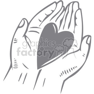 Hands with heart in the palm clipart svg library library hearts in palm of hands clipart. Royalty-free clipart # 386650 svg library library