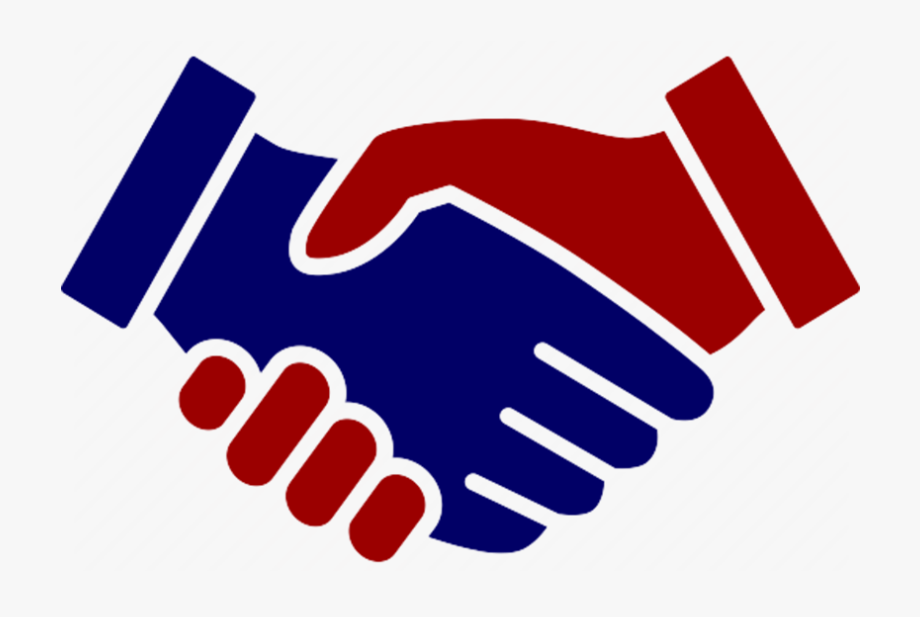 Handshake clipart freeuse download Handshake Clipart Red - Hand Shake Icon Transparent #790706 - Free ... freeuse download