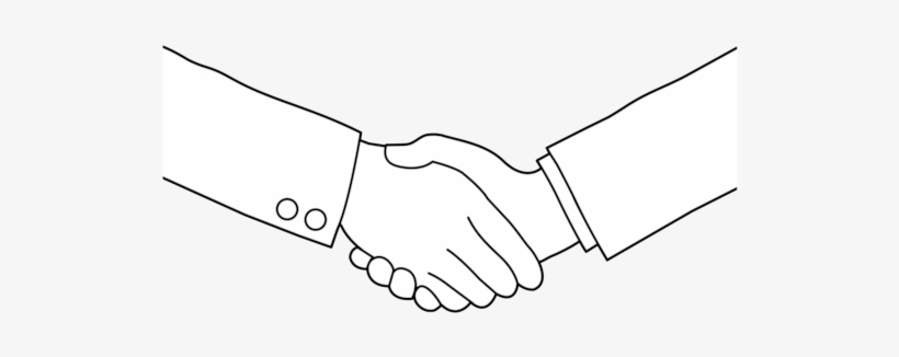 Handshake clipart black and white png black and white download 28 Collection Of Handshake Clipart Black And White - Shaking Hands ... png black and white download