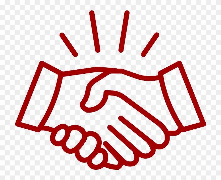 Handshake icon clipart clip transparent stock Handshake Icon - White Hands Shaking Icon Clipart (#3730551 ... clip transparent stock