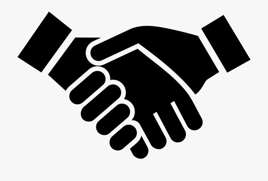 Handshake icon clipart clip black and white Handshake Png Icon - Shaking Hands Icon Png #312338 - Free Cliparts ... clip black and white