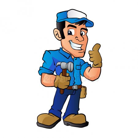 Handy man clipart clipart free Download handyman mascot clipart Handyman Clip art | Illustration ... clipart free