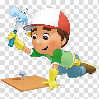 Handy manny clipart svg free stock Handy Manny, Handy Manny Working transparent background PNG clipart ... svg free stock