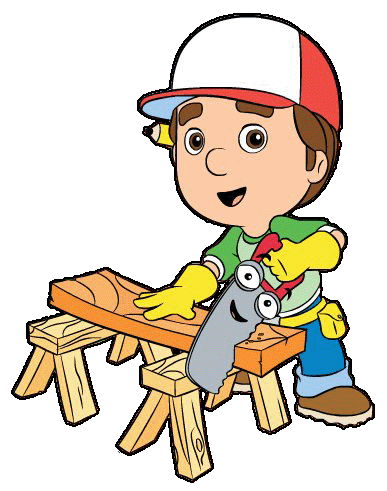 Handy manny clipart png black and white download Handy Manny Print | Kids Clip Art | Clip art, Community helpers ... png black and white download