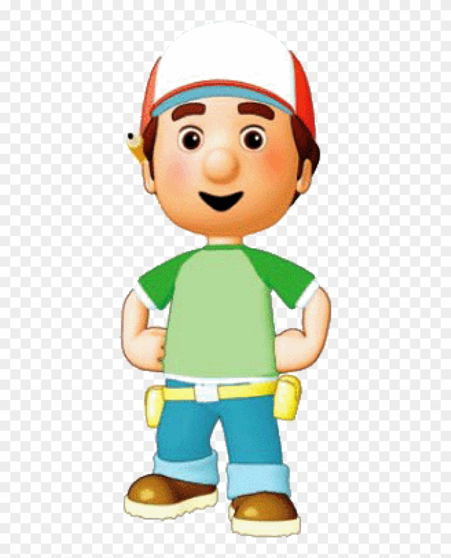 Handy manny clipart picture black and white Free Png Download Handy Manny Posing Clipart Png Photo Transparent ... picture black and white