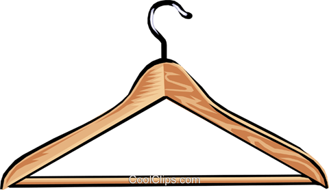 Hanger clipart vector clipart free stock clothes hanger Royalty Free Vector Clip Art illustration -hous0878 ... clipart free stock