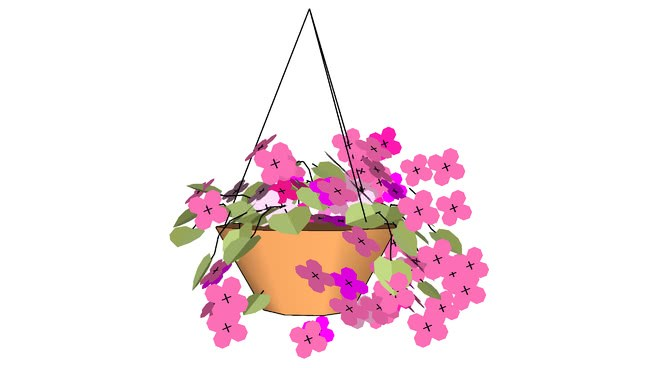 Hanging basket clipart clip black and white stock Hanging baskets clipart 4 » Clipart Portal clip black and white stock