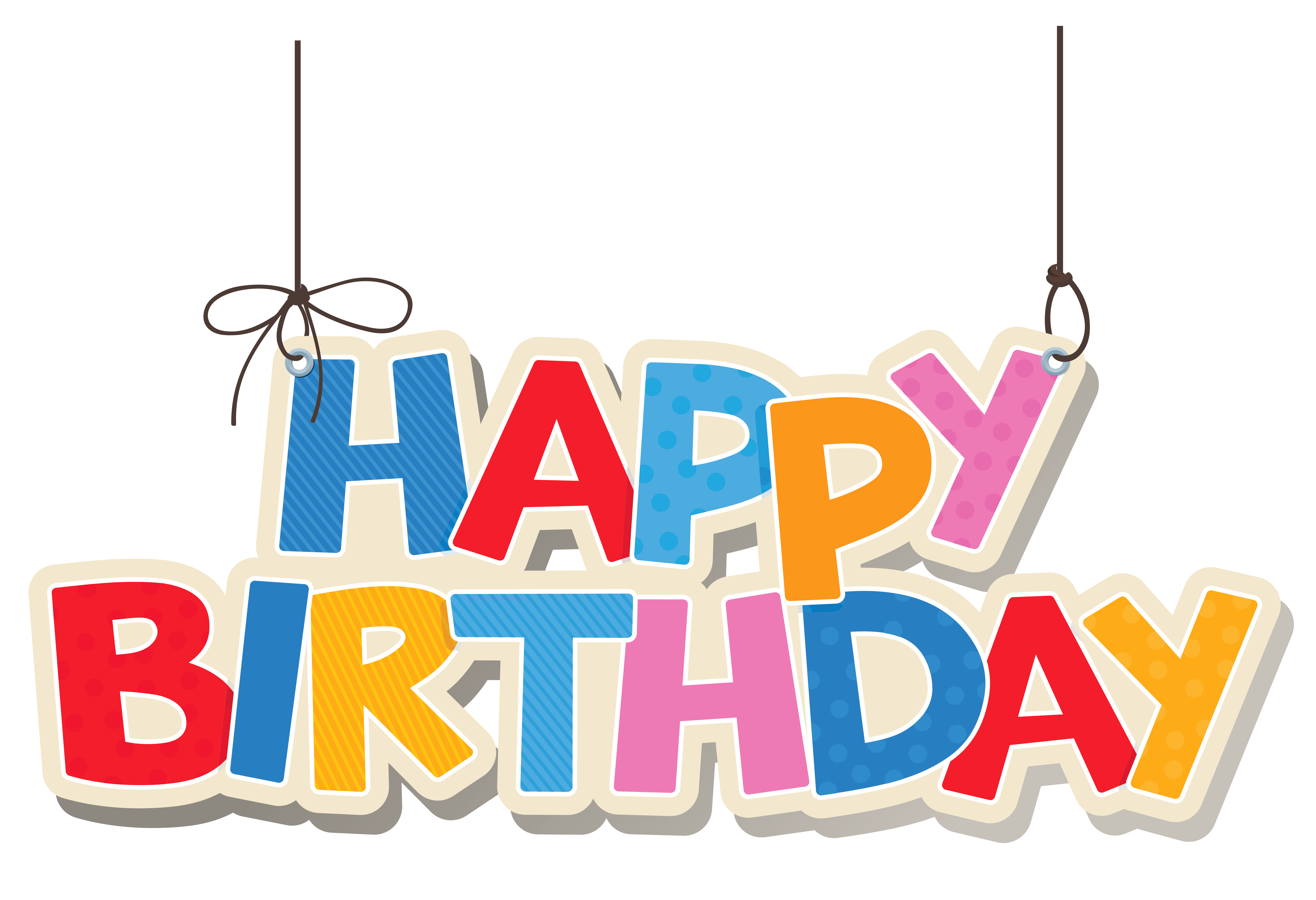 Hanging crown clipart svg download Hanging Colorful Happy Birthday PNG Clipart Picture | swarna ... svg download