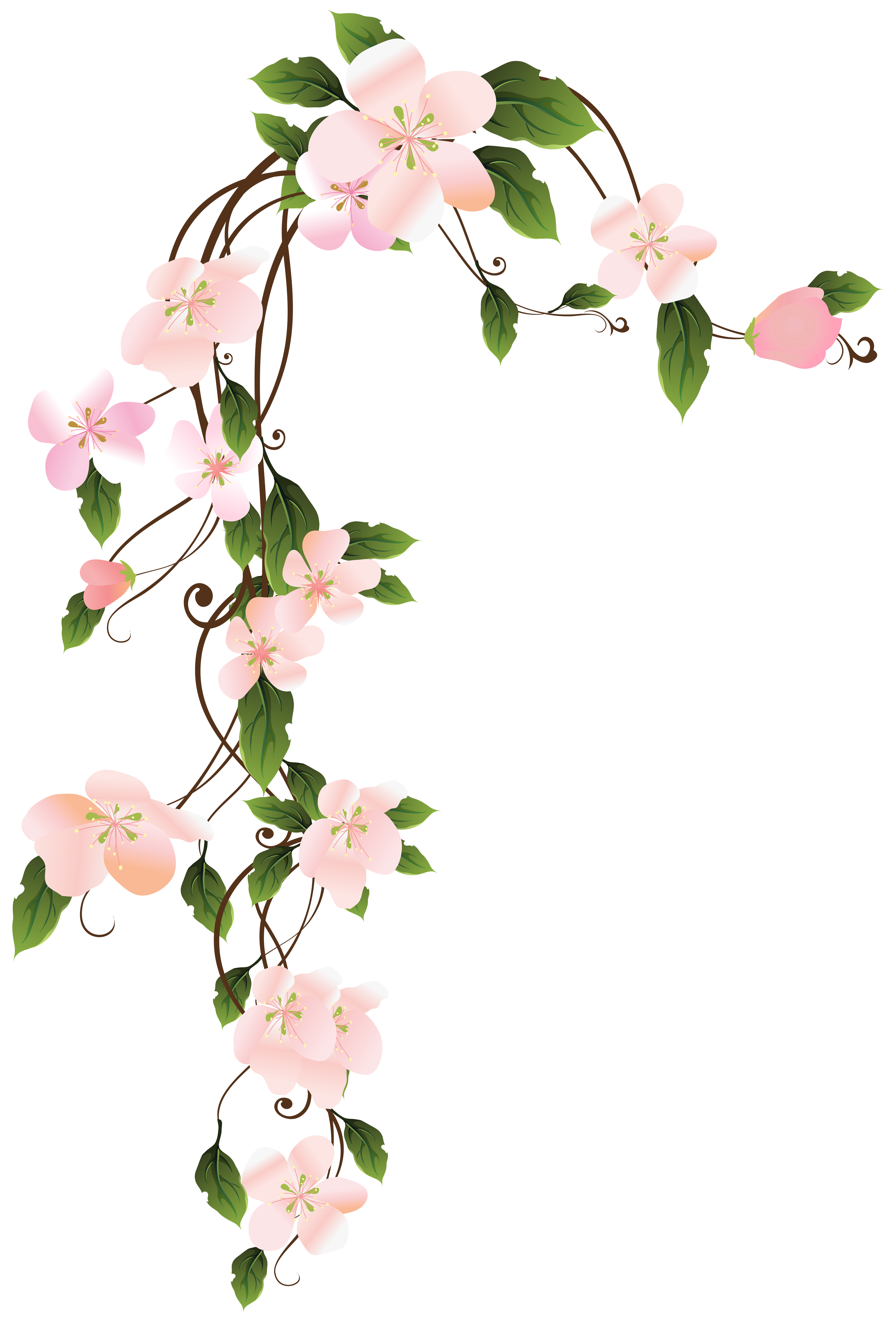 Hanging flower clipart royalty free download Hanging Floraw Decoration PNG Clip Art Image   Gallery Yopriceville ... royalty free download