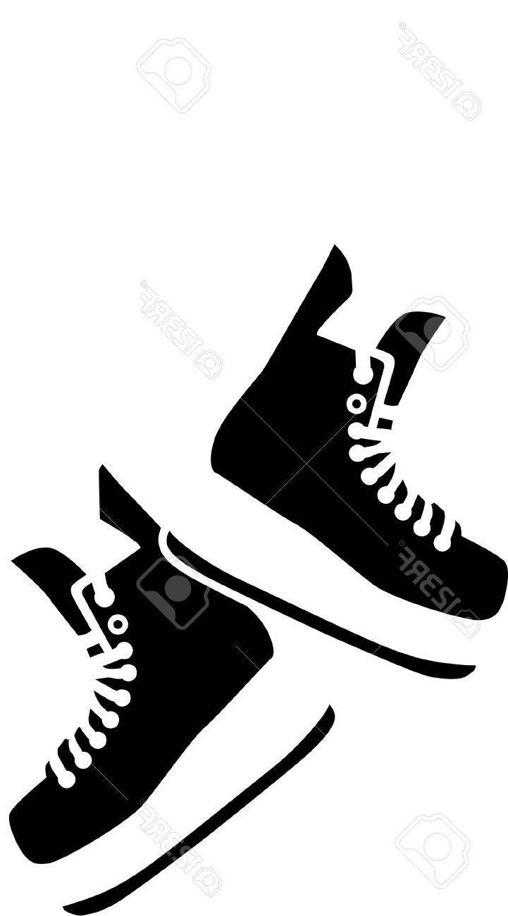 Hanging ice skates clipart png freeuse library Best Hockey Skates Vector Pictures » Free Vector Art, Images ... png freeuse library