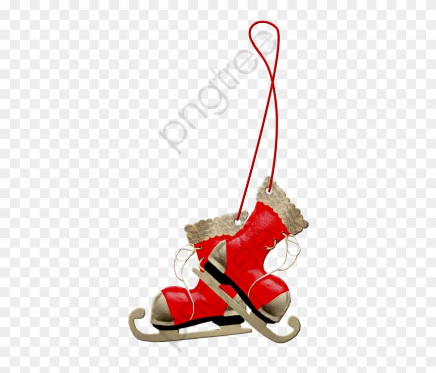Hanging ice skates clipart jpg royalty free download Ice Skating Clipart Falling - Clip Art Ice Skates Christmas - Png ... jpg royalty free download