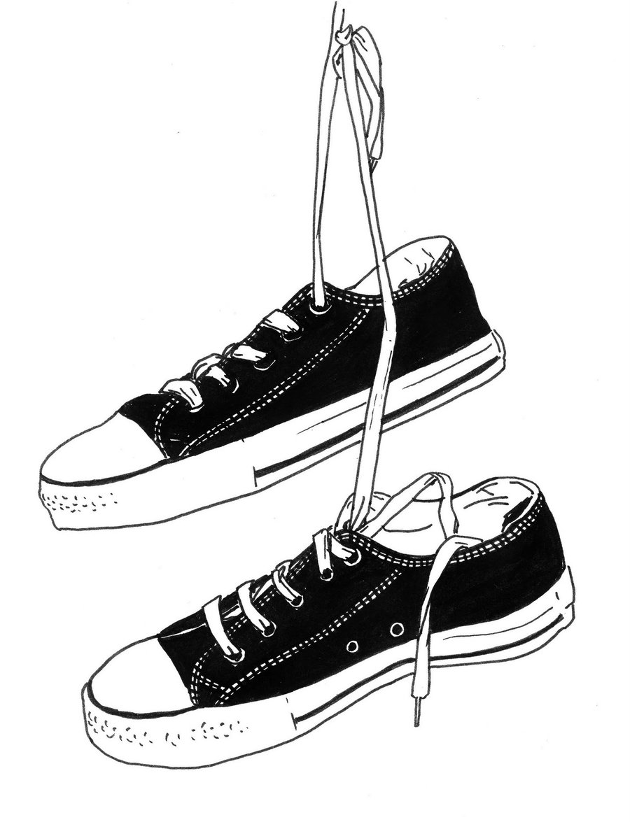 Hanging running shoes clipart jpg transparent library Converse Clipart | Free download best Converse Clipart on ClipArtMag.com jpg transparent library