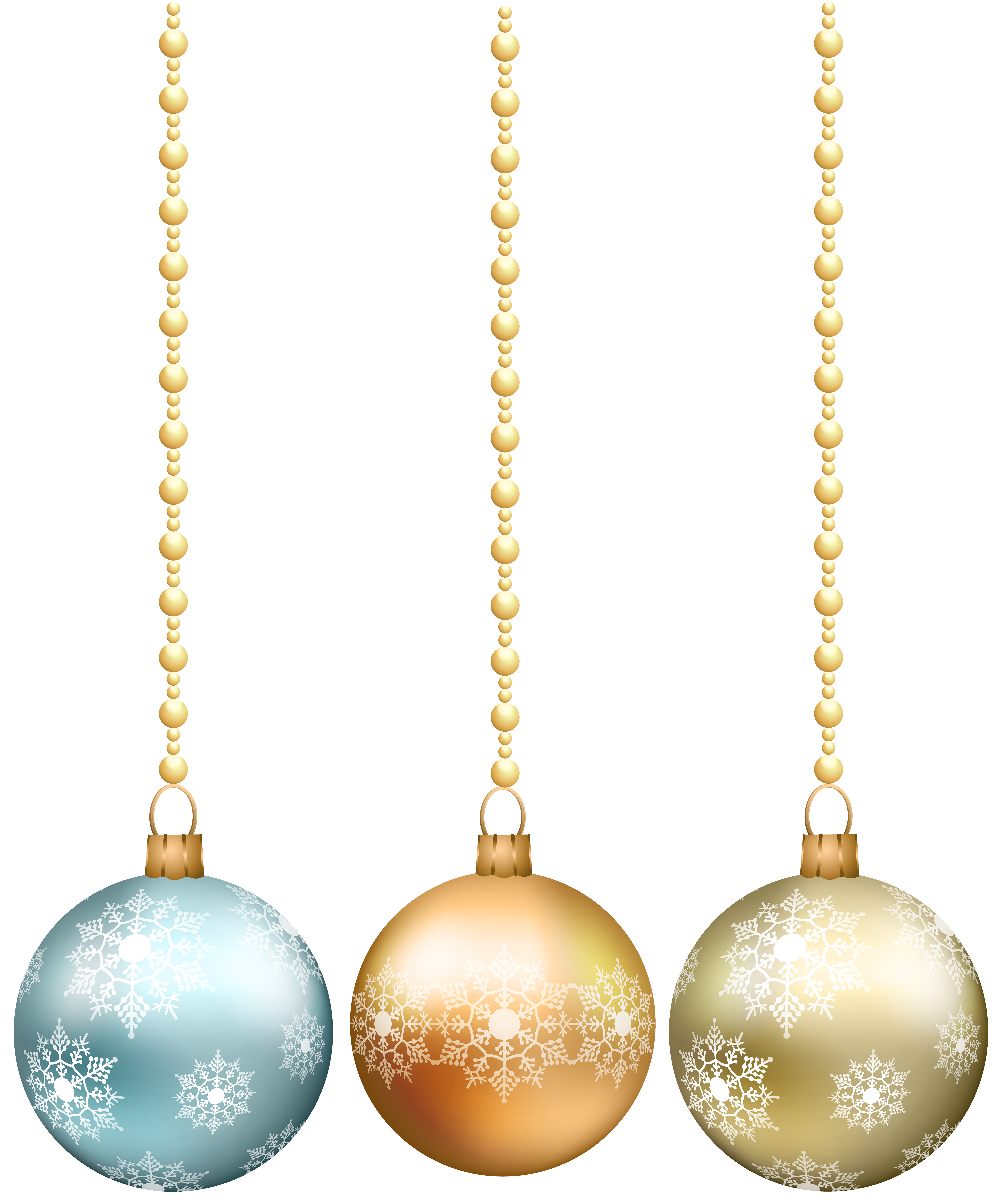 Hanging snowflake clipart image library library Image file formats Lossless compression - Hanging Christmas Balls ... image library library
