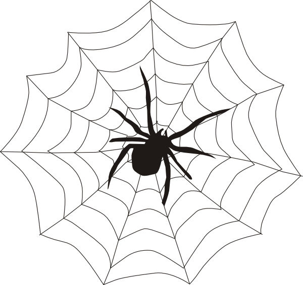 Hanging spider clipart clip art black and white download Halloween hanging spider clipart free images – Gclipart.com clip art black and white download