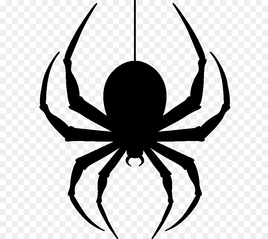 Hanging spider clipart graphic library library Download Free png Spider Clip art Hanging Spider PNG Transparent ... graphic library library