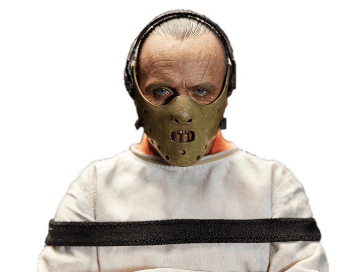 Hannibal lecter mask clipart png royalty free library Hannibal Lecter In Straightjacket transparent PNG - StickPNG png royalty free library