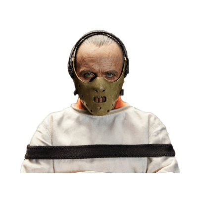 Hannibal mask clipart vector library library Hannibal Lecter In Straightjacket transparent PNG - StickPNG vector library library