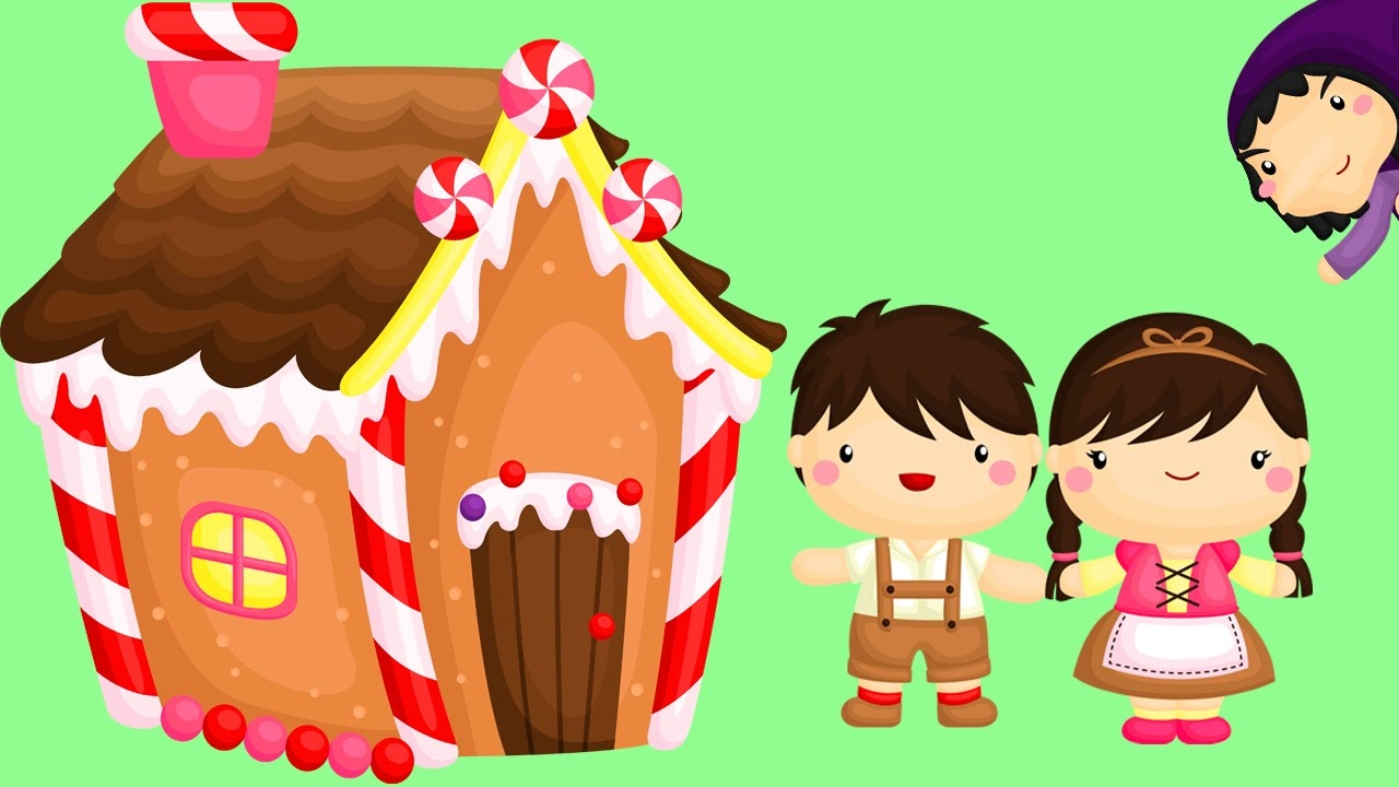 Hansel and gretel clipart clip art library stock Hansel and Gretel | A Fairy Tale for Kids clip art library stock