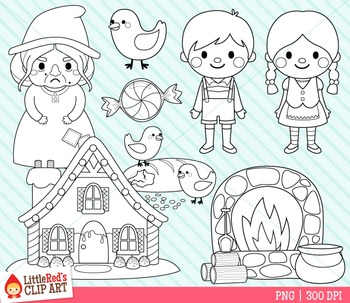 Hansel and gretel clipart black and white banner free library Hansel and Gretel Clipart banner free library