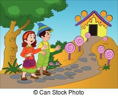 Hansel and gretel clipart free jpg royalty free Hansel gretel Stock Illustrations. 102 Hansel gretel clip art images ... jpg royalty free