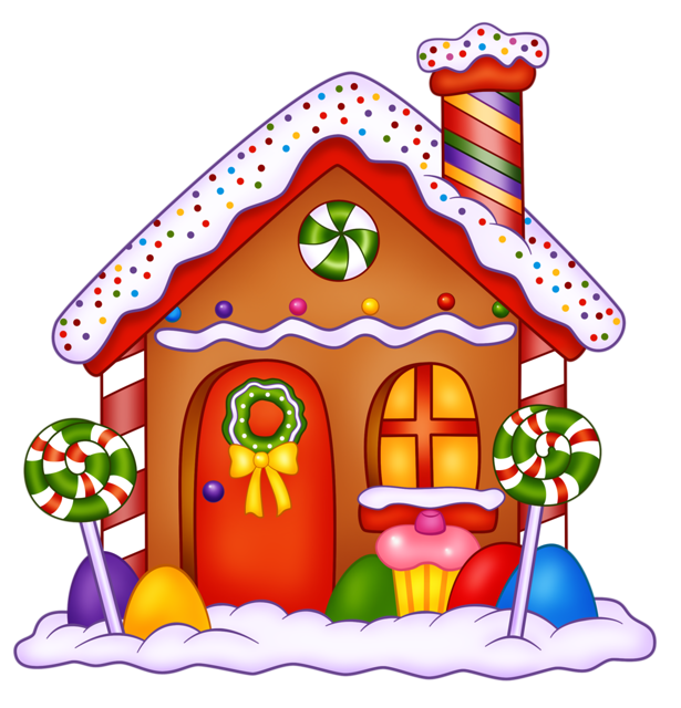 Hansel and gretel gingerbread house clipart clipart royalty free Gingerbread house Hansel and Gretel Lollipop Candy Clip art ... clipart royalty free