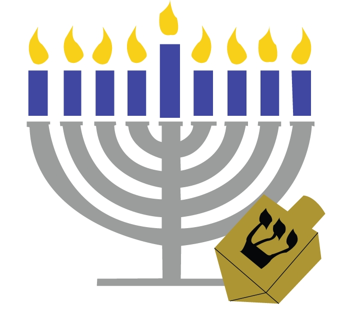 Hanukkah symbols clipart vector black and white library Menora Clipart   Free download best Menora Clipart on ClipArtMag.com vector black and white library