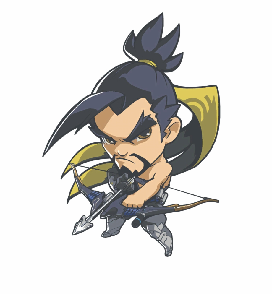 Hanzo clipart picture transparent download Collection Of - Overwatch Hanzo Cute Spray Free PNG Images & Clipart ... picture transparent download