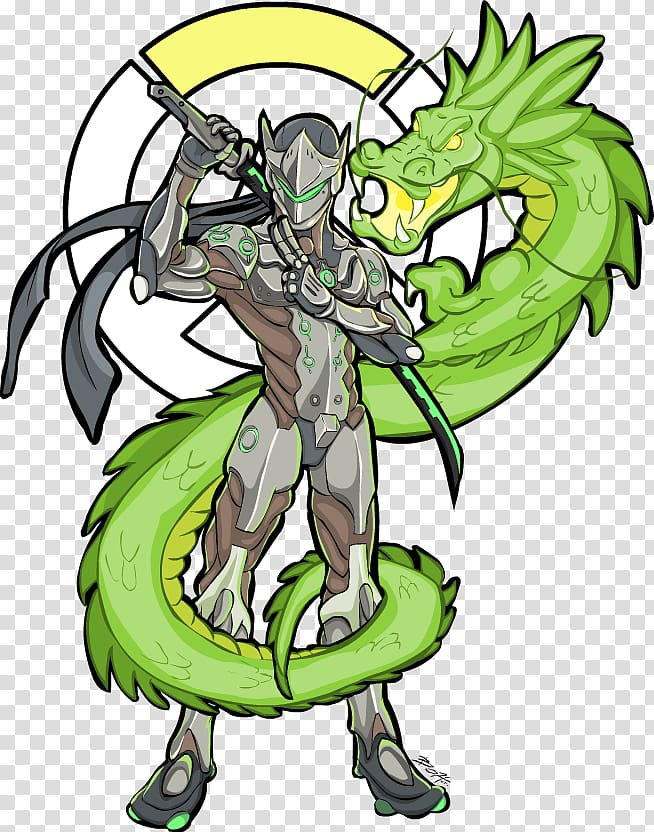 Hanzo clipart picture transparent Overwatch Drawing Hanzo Fan art Genji, others transparent background ... picture transparent