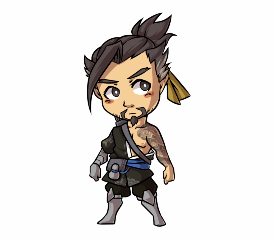 Hanzo clipart vector royalty free stock Hanzo Overwatch Png - Hanzo Chibi, Transparent Png Download For Free ... vector royalty free stock