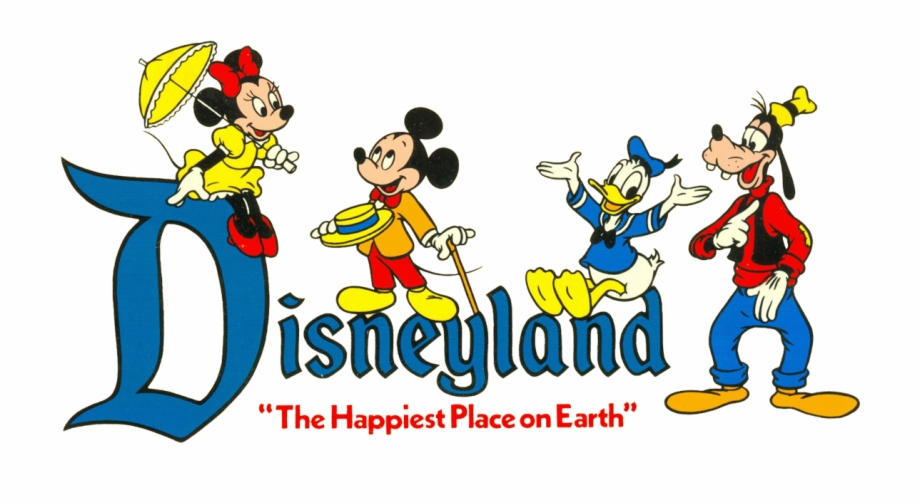 Happiest place on earth clipart image black and white stock Logos Clipart Disneyland - Disneyland Logo The Happiest Place On ... image black and white stock