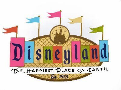 Happiest place on earth clipart image black and white download Disneyland Logo - Flags. Maybe I should use this one because the ... image black and white download
