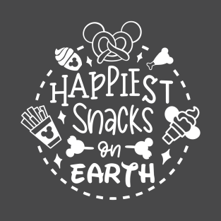 Happiest place on earth clipart clip freeuse Disney Snacks T-Shirts | TeePublic clip freeuse