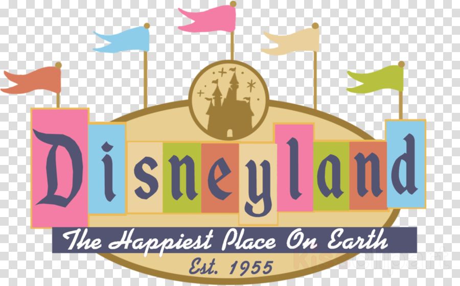 Happiest place on earth clipart clipart black and white stock Download vintage disneyland logo clipart Disneyland Logo Clip art clipart black and white stock