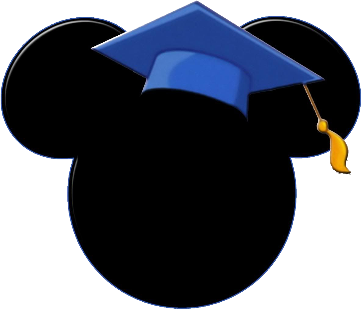 Happiest place on earth clipart graphic royalty free download Happiest Grads On Earth - Graduation Mickey Mouse 2019 Clipart ... graphic royalty free download