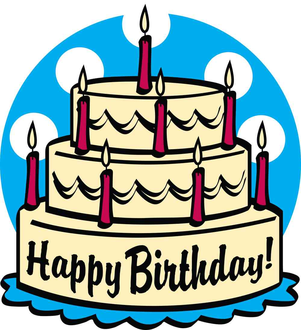 Free Happy Birthday Cake Clipart, Download Free Clip Art, Free Clip ... svg download