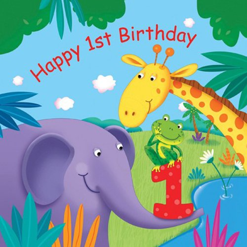 Happy 1st birthday svg Jungle Buddies