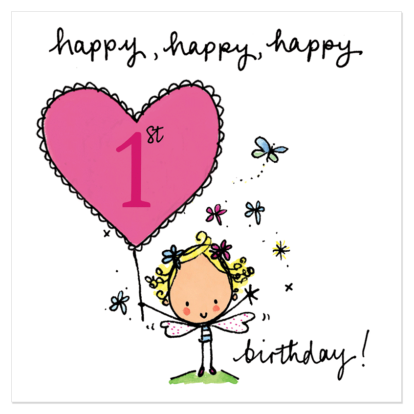 Happy 1st birthday clipart stock Happy, happy, happy 1st birthday! – Juicy Lucy Designs clipart stock