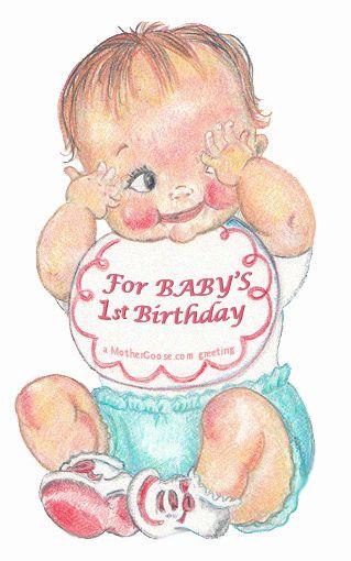 Happy 1st birthday girl clipart vector royalty free 1st baby girl clipart - ClipartFest vector royalty free