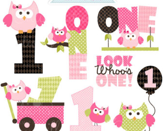 Happy 1st birthday girl clipart picture freeuse stock Happy 1st birthday girl clipart - ClipartFest picture freeuse stock