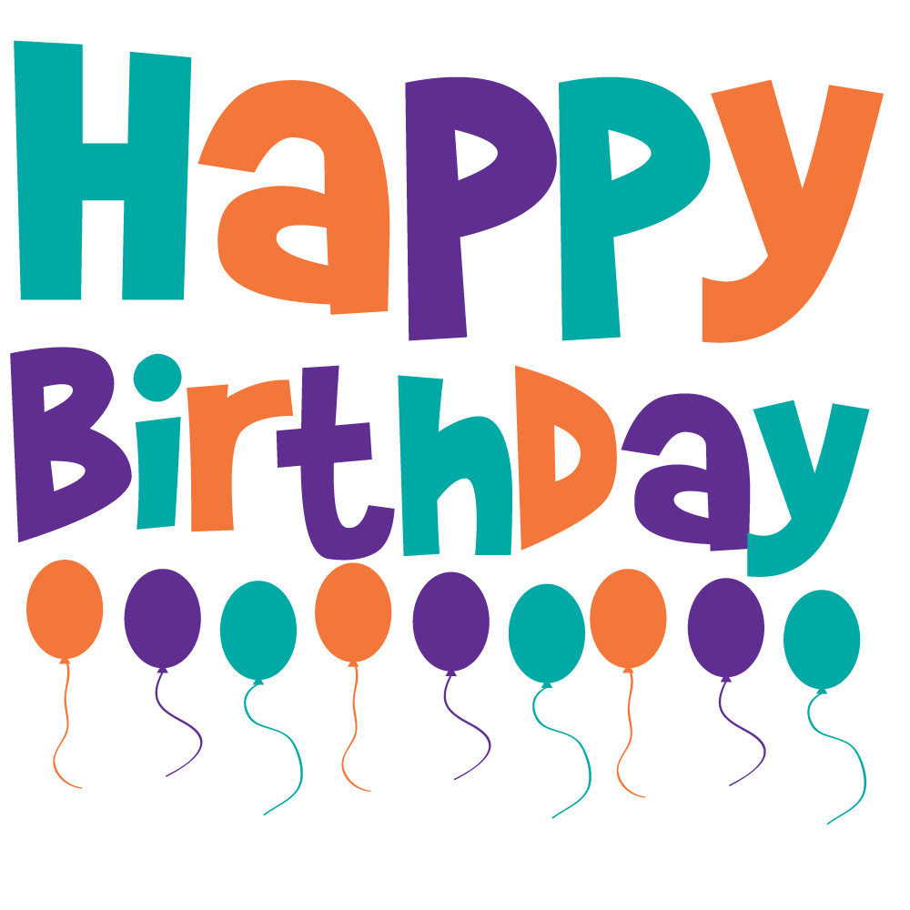 Happy birthday dog clipart png stock Happy Birthday Graphics! 50th, 40th, 21st, and more! png stock