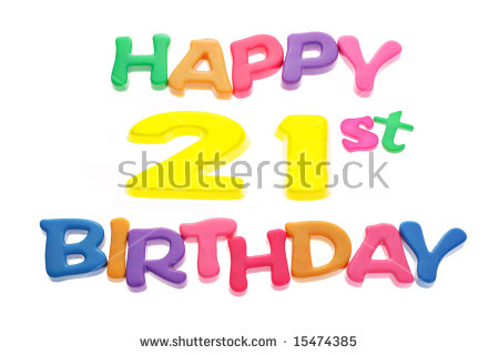 Happy 21st birthday clip art picture library stock 21st Birthday Stock Images, Royalty-Free Images & Vectors ... picture library stock