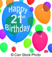 Happy 21st birthday clip art freeuse download 21st birthday Clipart and Stock Illustrations. 37 21st birthday ... freeuse download