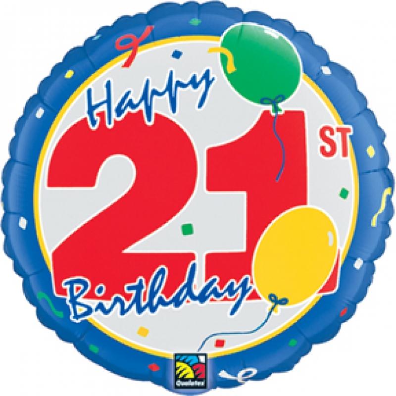 Happy 21st birthday clip art
