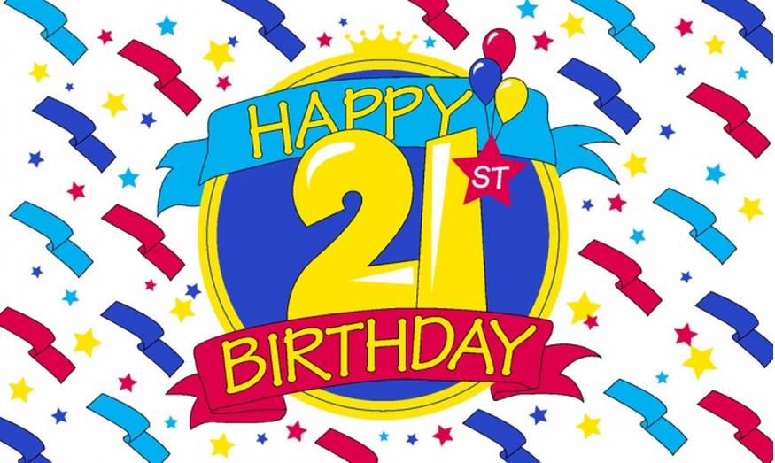 Happy 21st birthday clipart clip art freeuse 21 Happy Birthday Clipart - Clipart Kid clip art freeuse