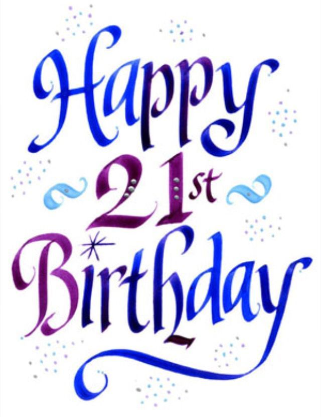 Happy 21st clipart clip art freeuse stock Happy 21st birthday clipart 7 » Clipart Portal clip art freeuse stock