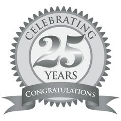Happy 25th anniversary clipart png royalty free stock 25th Anniversary Clip Art & 25th Anniversary Clip Art Clip Art ... png royalty free stock
