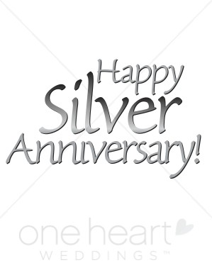 Happy 25th anniversary clipart jpg download 25th wedding anniversary clip art - ClipartFest jpg download
