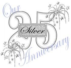 Happy 25th anniversary clipart graphic library stock Happy 25th anniversary clipart - ClipartFest graphic library stock